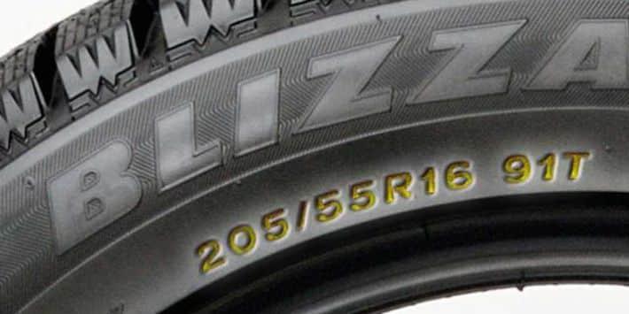 Lire les marquages d'un pneu
