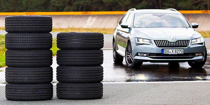 10 pneus pour voitures familiales ou routières ont été testés par Auto Zeitung dans son dernier comparatif 2019