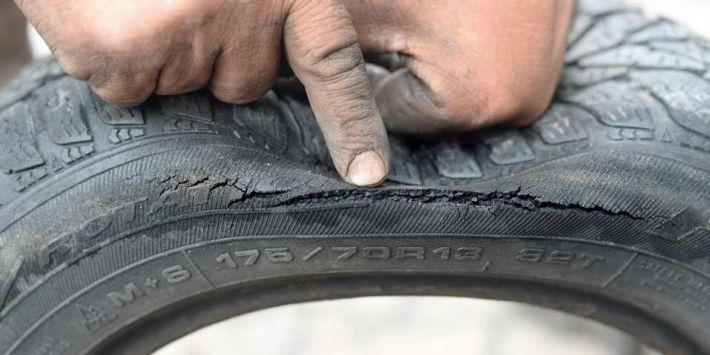 Vieillissement du pneu