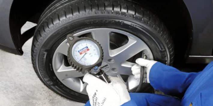 Pression pneu hiver