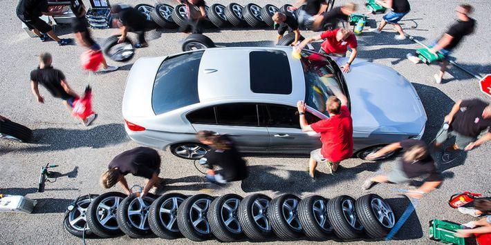 Test et comparatif du meilleur pneu sport 2019 d'après AutoBild