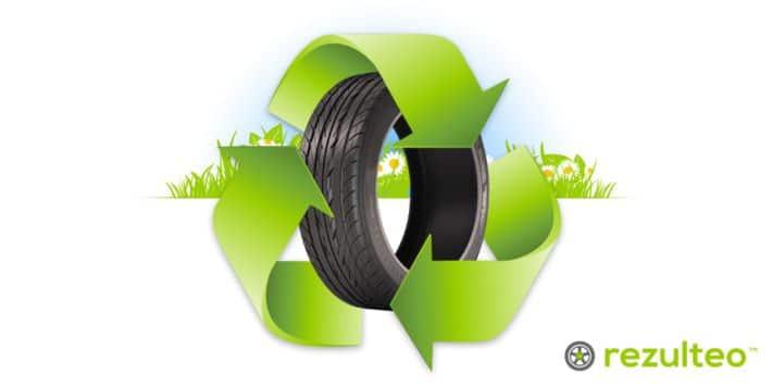 Recyclage du pneu