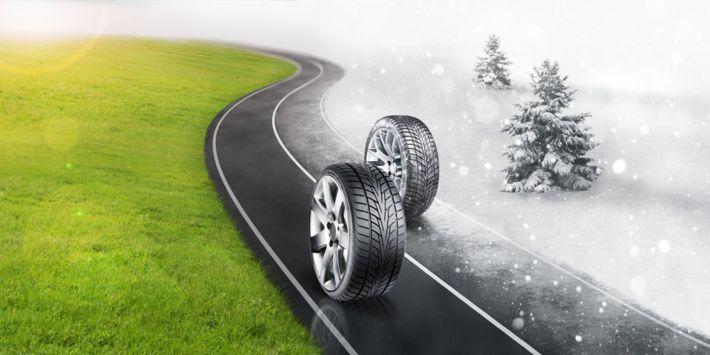 Rouler avec pneus hiver en été