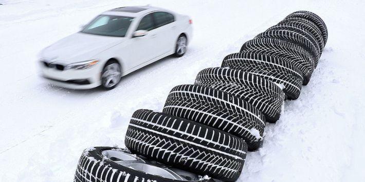 10 pneus hiver ultra hautes performances comparés par Auto Bild