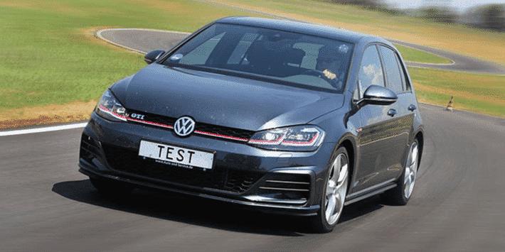 Test pneus été ADAC et TCS : Golf GTI sur circuit