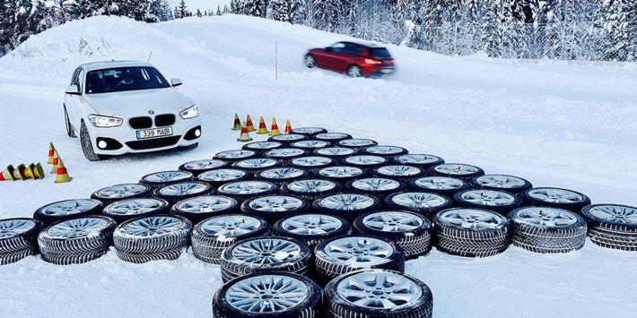 Autobild a fait un comparatif des meilleurs pneus hiver pour voiture compacte et moyenne, berline et monospace, sur neige, sur sol sec et mouillé