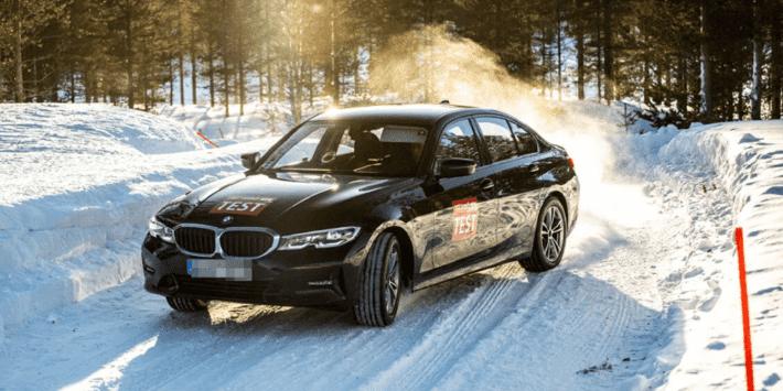 Test pneus hiver : ACE Lenkrad fait un comparatif sur neige pour berlines