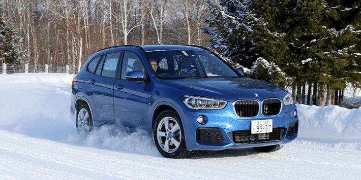 Test pneus hiver SUV : Auto Bild fait un comparatifs de pneumatiques sur la BMW X1