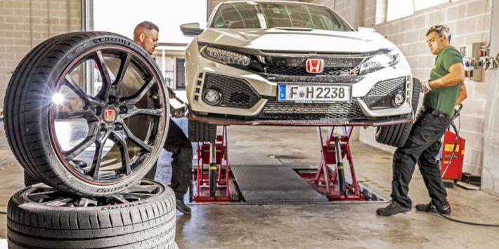 Test pneus UHP Sport Auto Honda Civic Type R