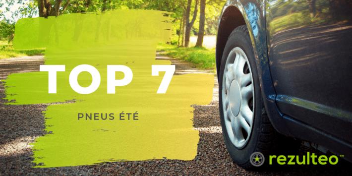 Top 7 pneus été 2019